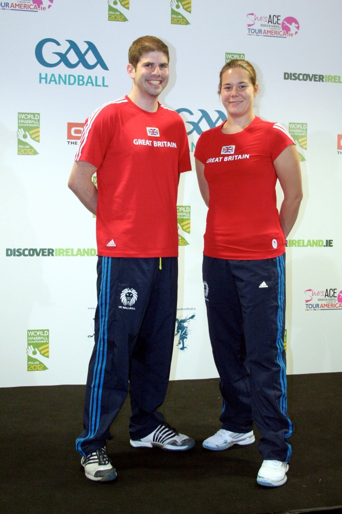 GB Captains: Daniel Grant and Kerry White