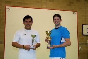 Pro Winner Dan Grant (right) with runner-up Ady Lee (left)