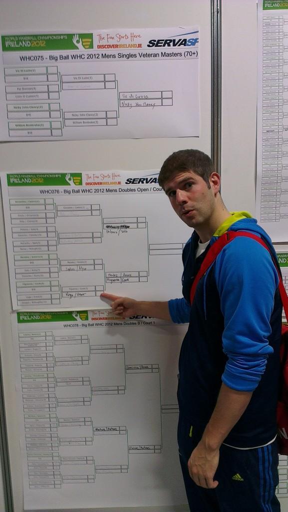 That's right – Dan Grant & Eloy Vela: World Championship quarterfinalists!