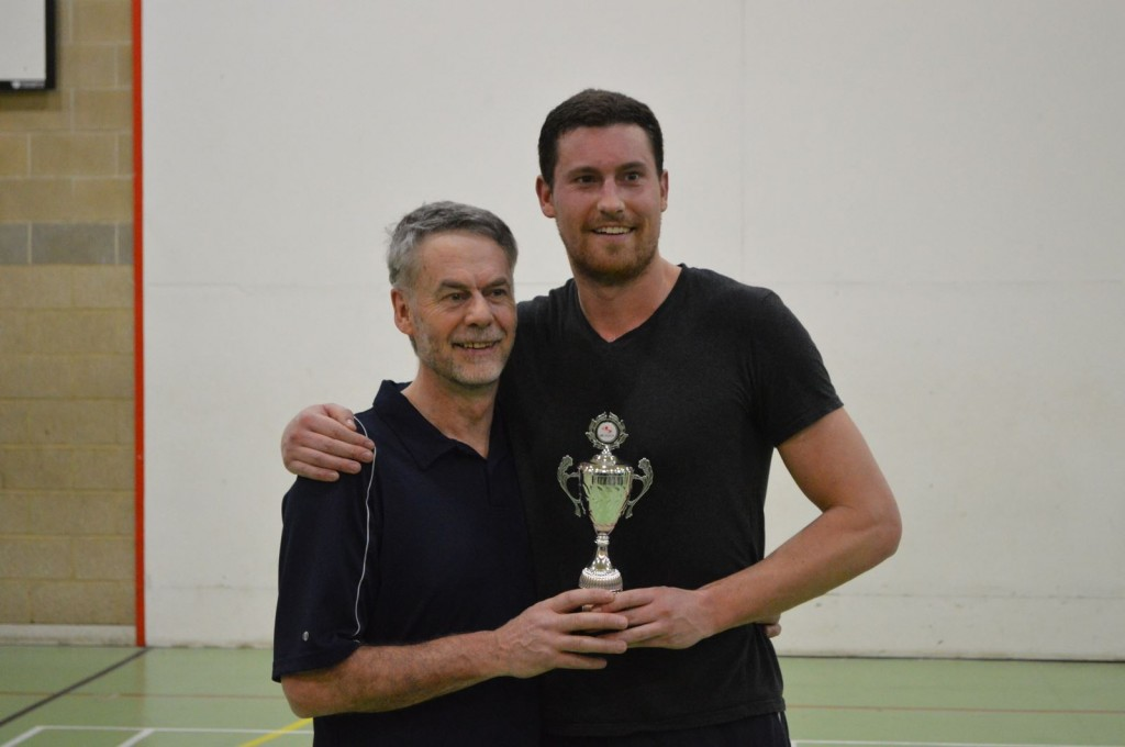 Brian Kennedy, with father, Eugene. This year's Challenger Champion and Runner-up