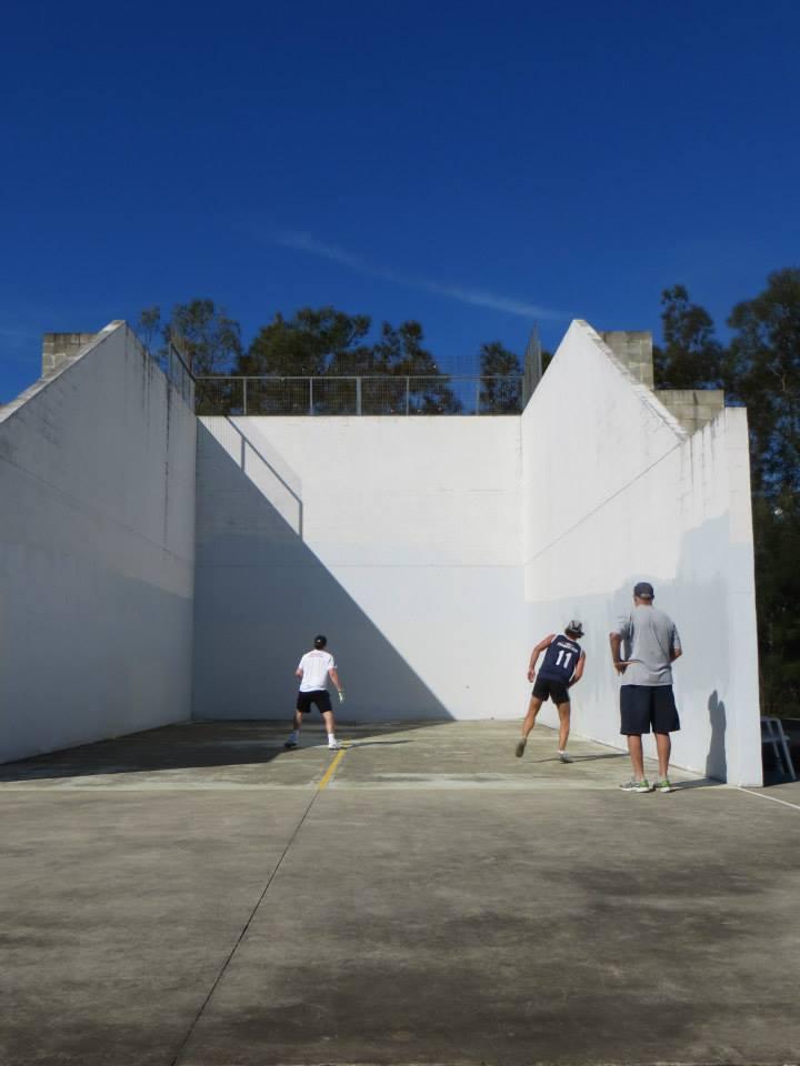 3-Wall courts in Australia. Big!