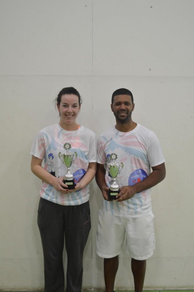 The two singles champs - Hanley & Polanco